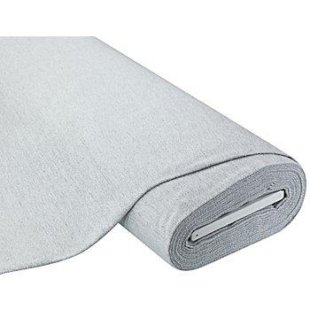 Tissu chenille thermique 'Barna', gris clair