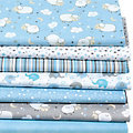 "Patchwork- und Quiltpaket ""Baby Boy"", blau-color"