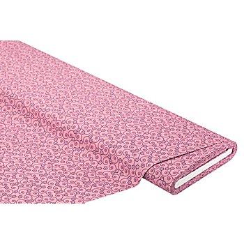 Tissu coton 'Ramage de fleurs', fruits des bois
