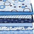 """Patchwork- und Quiltpacket """"Jeansblau"""""""