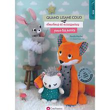 Livre 'Quand Lisane coud des doudous et accessoires pour les petits'