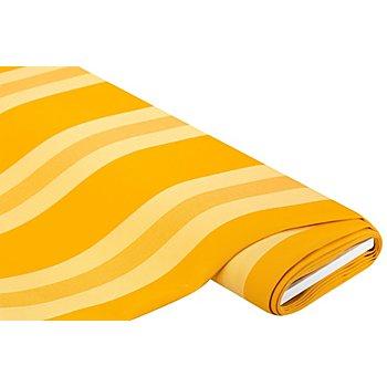 Tissu pour rideaux 'rayures', jaune multicolore