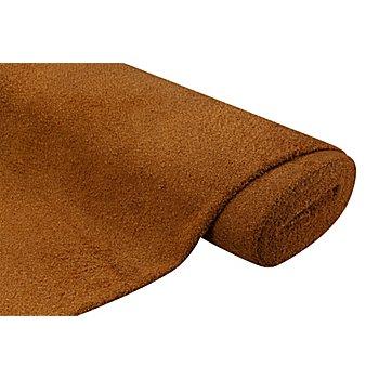 Tissu peluche, ambre