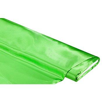 Tissu satin uni, vert kiwi, 5 m