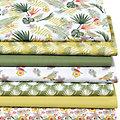 "Patchwork- und Quiltpaket ""Tropical"", grün-color"