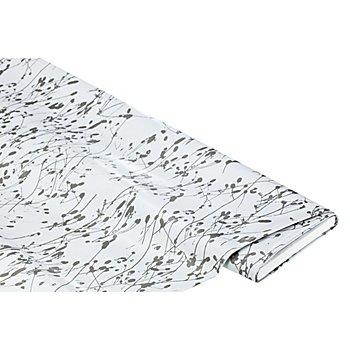 Linge de table épongeable - toile cirée 'taches', gris multicolore
