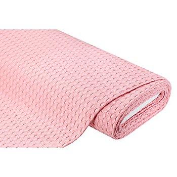 Tissu piqué en coton, rose