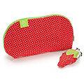 """Näh-Set """"Erdbeertäschchen"""" für 2 verschiedene Taschen"""
