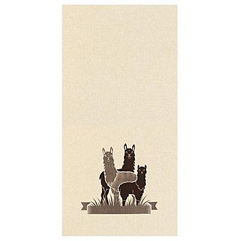 Filzkissen-Coupon 'Lama', natur