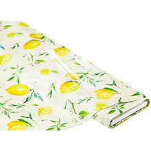 Abwaschbare Tischwäsche - Wachstuch 'Zitronen', gelb-color