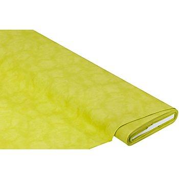 Baumwollstoff Moire 'Mona', limegreen