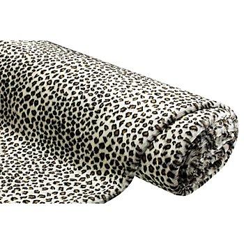 Fellimitat 'Leopard', braun-color