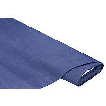 Beschichtetes Baumwollmischgewebe 'Meran' Uni, jeansblau