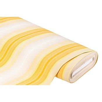 Allround-Gewebe 'Madrid', gestreift, gelb-color