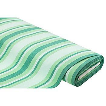 Allround-Gewebe 'Madrid', gestreift, grün-color
