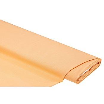 Tissu cretonne uni, abricot