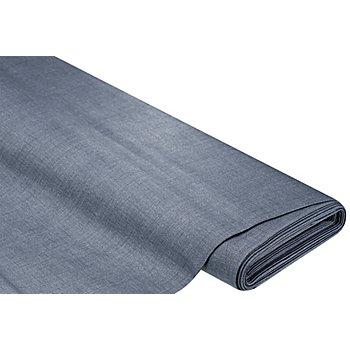 Beschichtetes Baumwollmischgewebe 'Meran' Uni, nachtblau