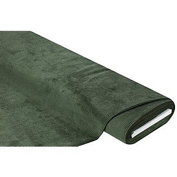 Möbel-Cord, tannengrün