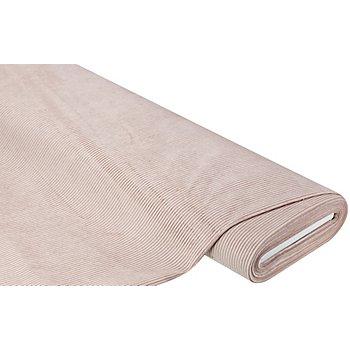 Möbel-Cord, rosé