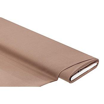Tissu coton 'Lara', marron clair