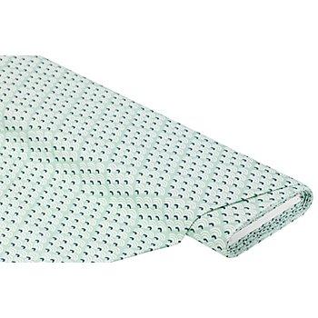Tissu de décoration 'vagues', menthe