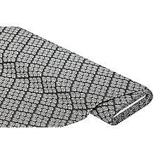 Tissu de décoration 'vagues', anthracite