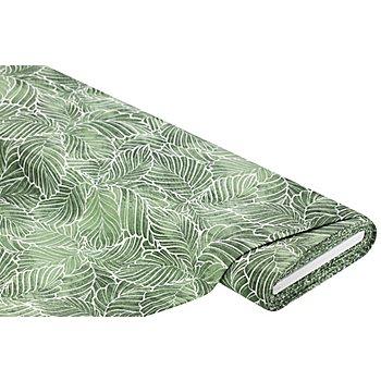 Dekostoff Blätter 'Lorena', grün-color