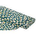 """Tissu de décoration """"léopard"""", vert/multicolore"""