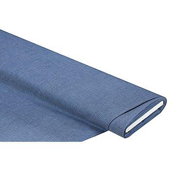Baumwoll-Jacquard 'Krawattenmuster', blau/weiss