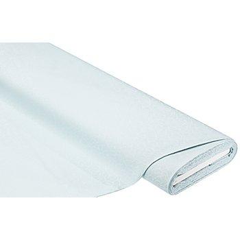 Tissu coton damassé 'rondo', gris clair