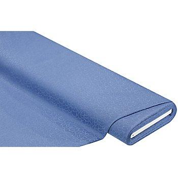 Baumwoll-Damast 'Rondo', blau