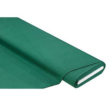 Tissu coton damassé 'rondo', vert sapin