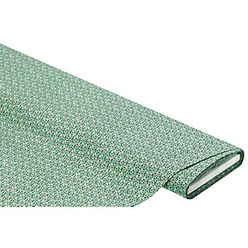 Tissu en coton 'confettis' de la série 'Lena', vert multicolore