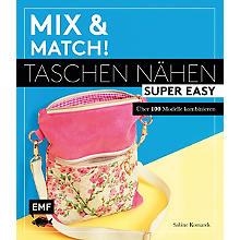 Buch 'Mix & Match! – Taschen nähen super easy'