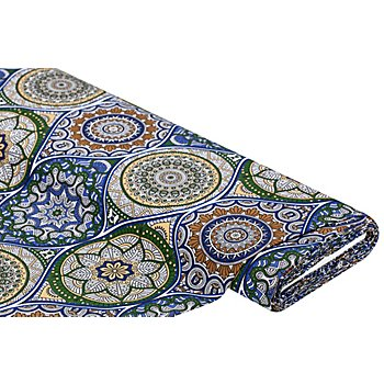 Dekostoff 'Marrakesch', grau-color