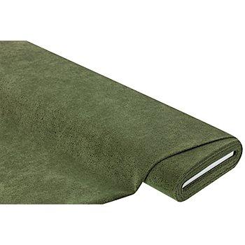 Möbel-Samt geprägt, grün