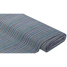 Tissu multiusage 'rayures', bleu/vert