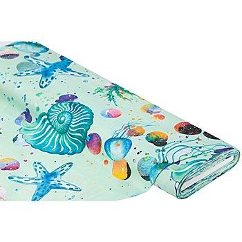 Dekostoff 'Unterwasserwelt', mint-color