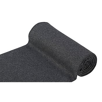 Tissu bord côte 'confort', anthracite/mélangé