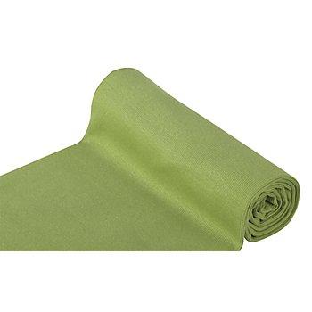 Tissu bord côte 'confort', vert mousse