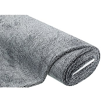 Tissu peluche, gris