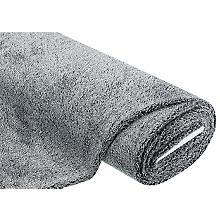 Plüschstoff, grau