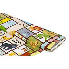 Tissu coton impression numérique 'Zoo'