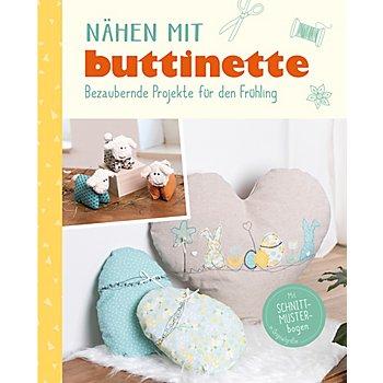 Buch 'Nähen mit buttinette - Bezaubernde Projekte für den Frühling'