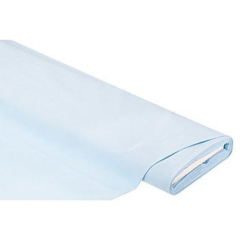 Tissu coton uni, bleu clair, de la série 'Lena'