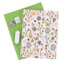 Näh-Set 'Stofftasche Blumenwiese' für 2 Stück, grün-color