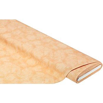 Tissu coton moiré 'Mona', orange pastel