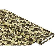 Tissu coton 'camouflage', vert