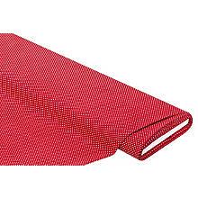 Tissu coton 'pois', rouge/blanc