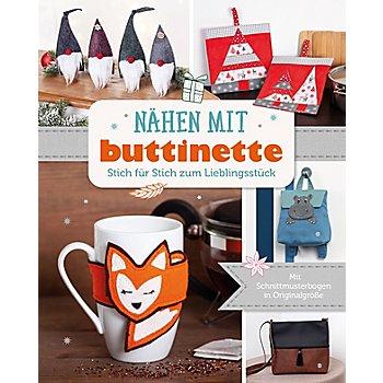 Buch 'Nähen mit buttinette - Stich für Stich zum Lieblingsstück'
